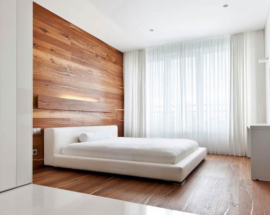 18 wooden bedroom designs to envy updated for Wood flooring for bedrooms