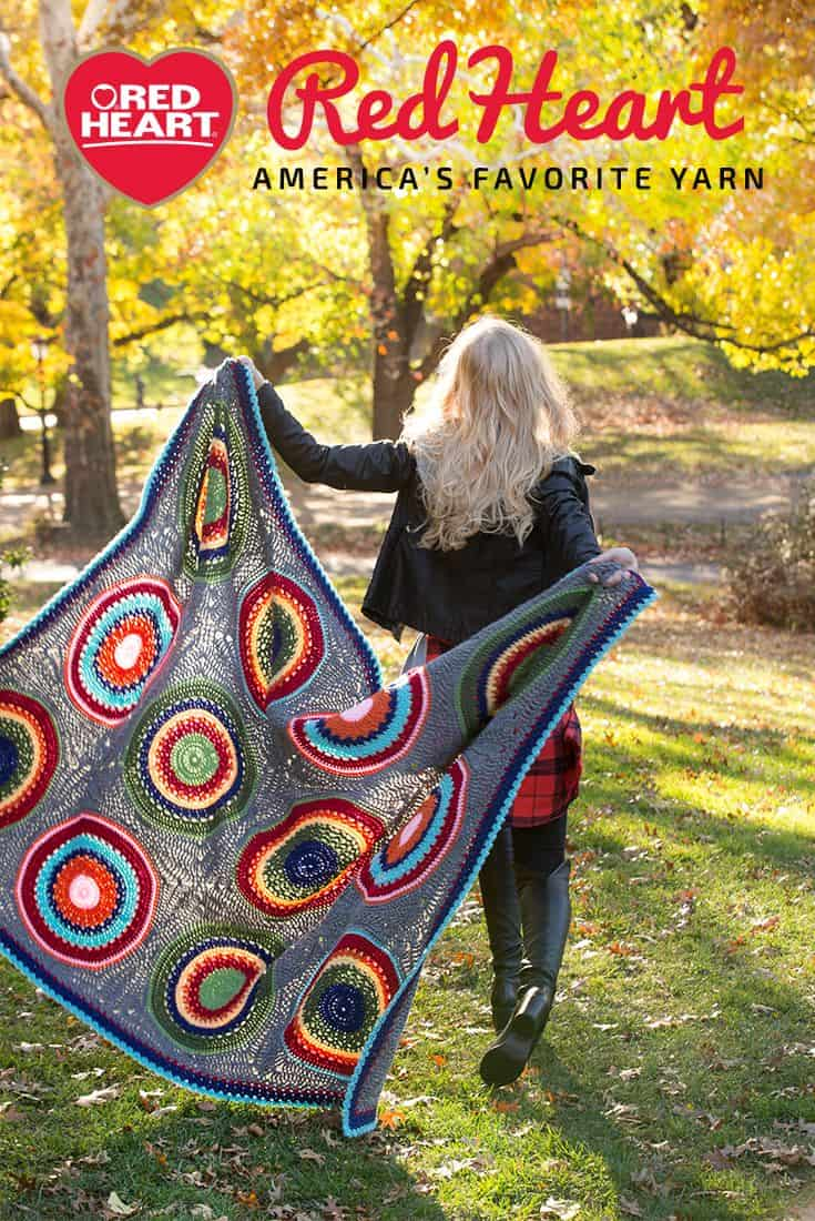 Will crochet blanket find its way into your modern home view in gallery red heart yarn crochet afghang bankloansurffo Choice Image