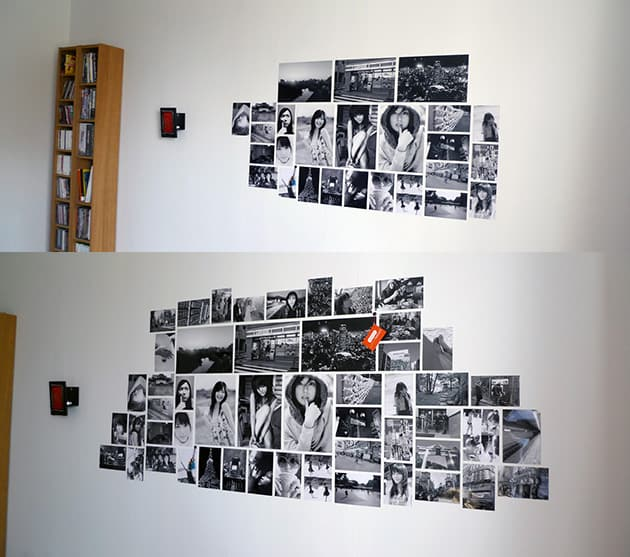 Photo Frame Wall Designs Layouts Ideas Collage Without Frames 17 Layout