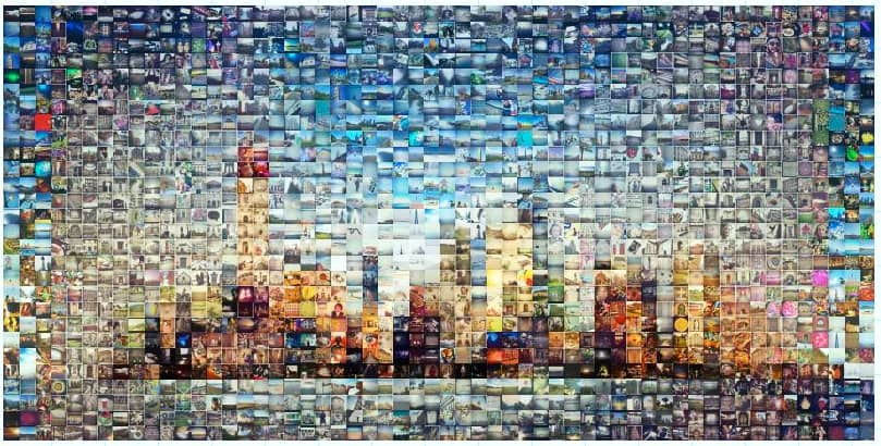 ideas for homemade picture collages - Wall Collage Without Frames 17 Layout Ideas