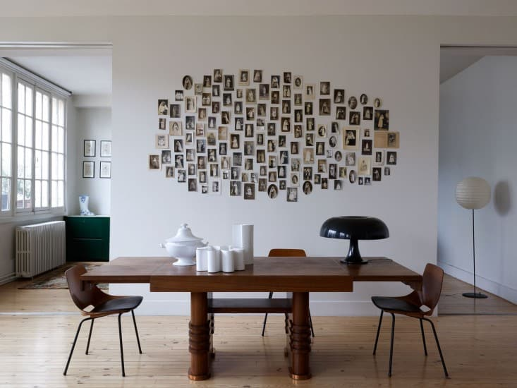 Photo Wall Collage Without Frames: 17 Layout Ideas on Picture Hanging Idea  id=30083