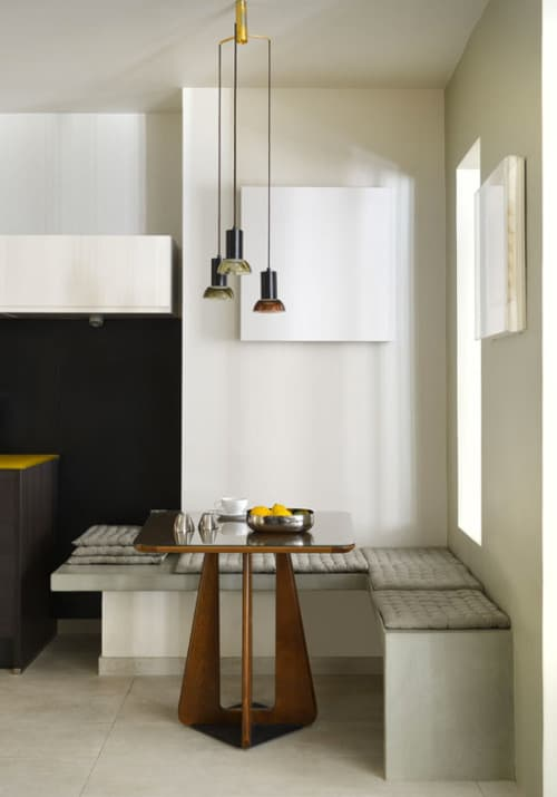 22 Breakfast Nook Designs for a Modern Kitchen and Cozy Dining : zen style minimalist breakfast nook from www.trendir.com size 500 x 715 jpeg 89kB