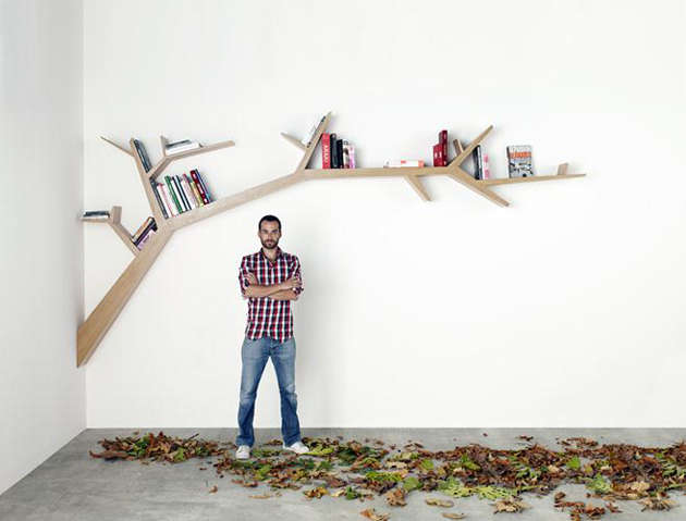 Best Tree Like Bookshelves - Corner tree bookshelf
