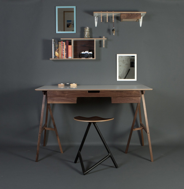 trestle desk ideas hot trend 2 spoon %20kartell thumb 630x647 15890 20 Trestle Desk Ideas for the Hottest Trend