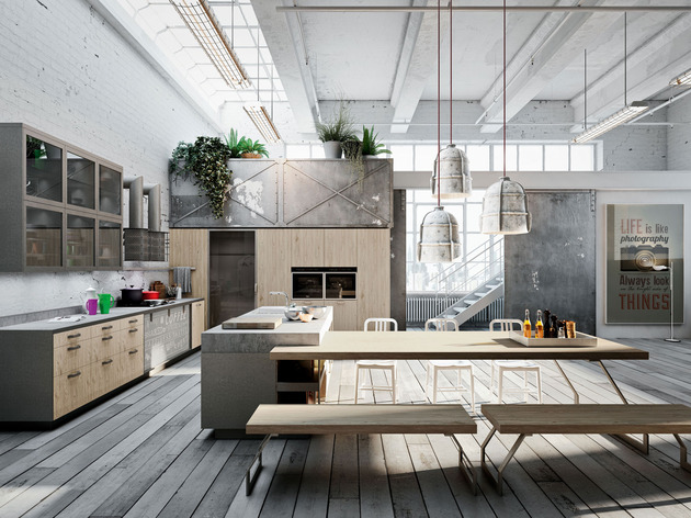View In Gallery 24 Coolest Modern European Kitchens 3