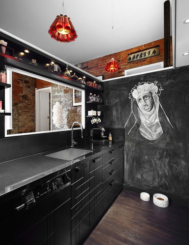 kitchen chalkboard wall ideas chalkboard wall trend comes to modern homes 38 19319