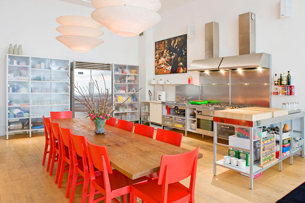 red chairs create drama 11 trendy ideas 1s soho loft  thumb 630x420 45137 11 Ways Red Chairs Can Create Dramatic Decor