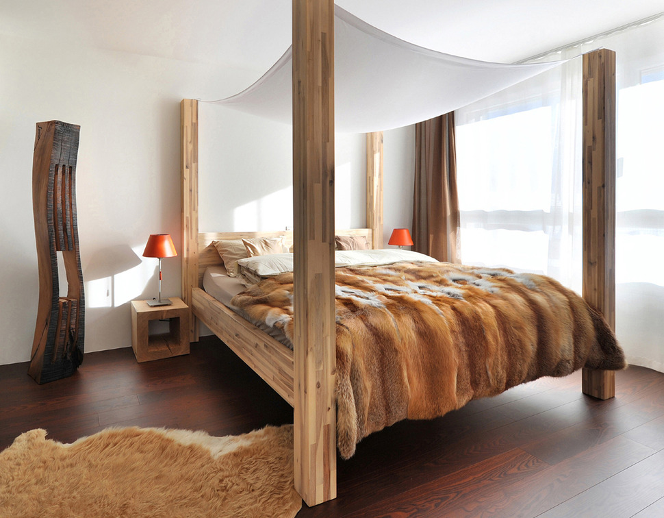 18 wooden bedroom designs to envy updated for Four bedroom design