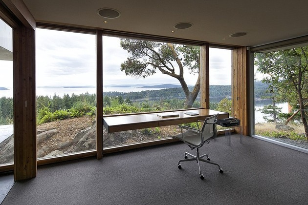home ofice design with a view 2 thumb 630xauto 52348 15 Modern Home Office Designs you wont get any work done in