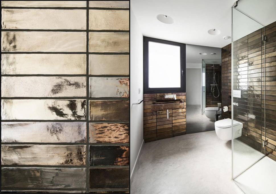 Top 10 tile design ideas for a modern bathroom for 2015 for Best new bathroom designs