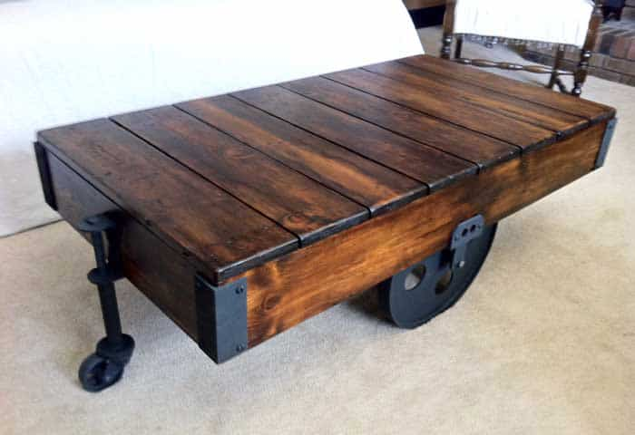 Charmant View In Gallery Creative Wood Coffee Table Ideas 5 Diy Projects