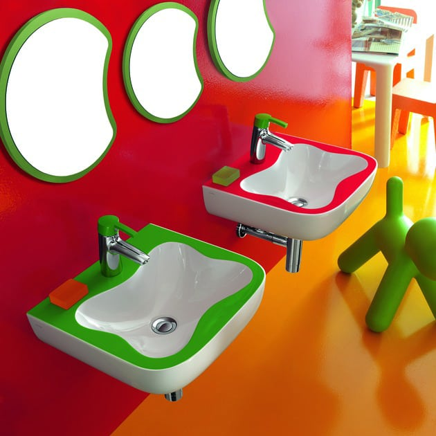 exciting bathrooms children laufen 1 5 Awesome Kids Bathroom Sinks