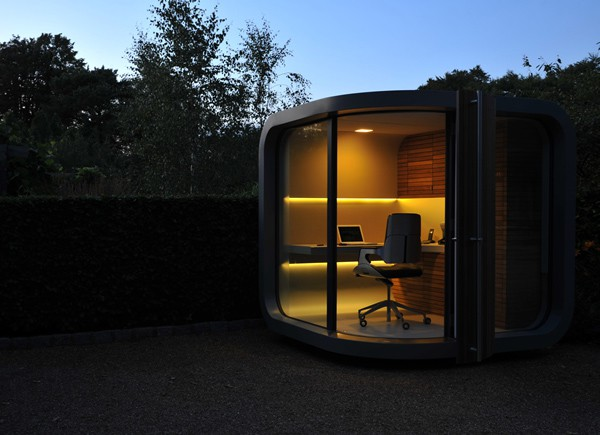 futuristic backyard sheds offices studios work pod 14 Futuristic Backyard Offices, Nooks and Pods