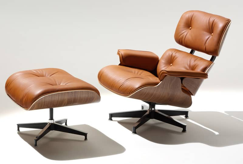 Charmant View In Gallery Lounge Chair With Footstool Miller Hero Eames 1 Thumb  630x425 10109 10 Iconic Lounge Chairs With