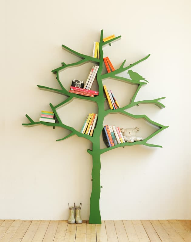 tree like bookshelves designartist shawn soh 2 10 Best Tree like Bookshelves