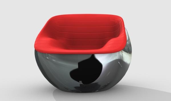 Arflex Chair Ball Modern Chair From Arflex Ball