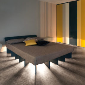 Inspired by the Sun: The Beam Bed from Lago