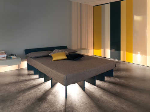 beambed Inspired by the Sun: The Beam Bed from Lago