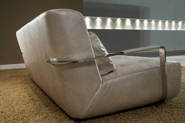 borzalino sofa nobel 1 ultra modern leather sofa from borzalino nobel