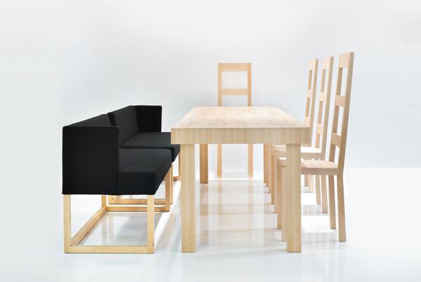 bruehl belami dining 6 Modern Dining Room Set Belami by Bruehl