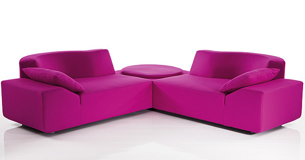 Ultra Modern Sectional Sofa LadyBug by Bruehl