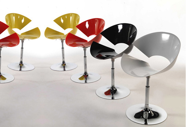 colico design diva chairs 1 Diva Chair by Colico Design   a very distinct modern chair