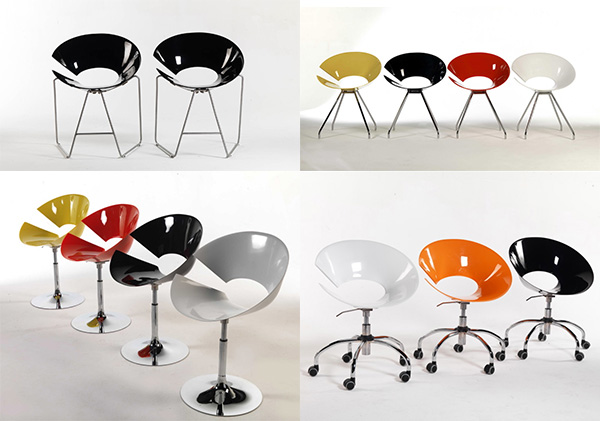 Diva Chair By Colico Design A Very Distinct Modern Chair
