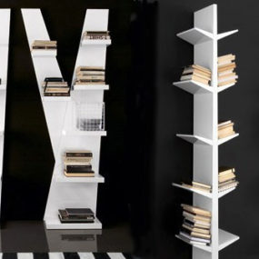 Modern Wall Bookcase Designs by Compar