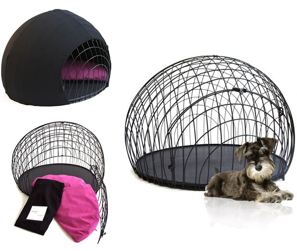 ei crate cover Modern Wire Dog Crate and Crate Cover from GO!PetDesign   eiCrate
