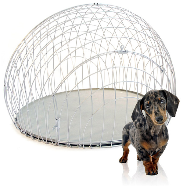 ei crate Modern Wire Dog Crate and Crate Cover from GO!PetDesign   eiCrate
