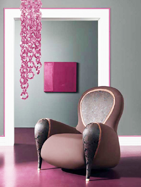 feminine chairs innocenza polsit 2 Feminine Chairs Innocenza by Polsit