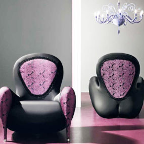 Feminine Chairs Innocenza by Polsit