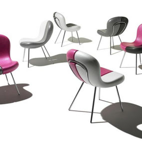 Funky Chair Designs with Removable Seats by Karim Rashid for Feek