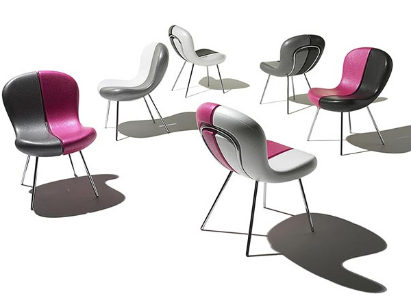 funky chair designs snap karim rashid feek 1 Funky Chair Designs with Removable Seats by Karim Rashid for Feek