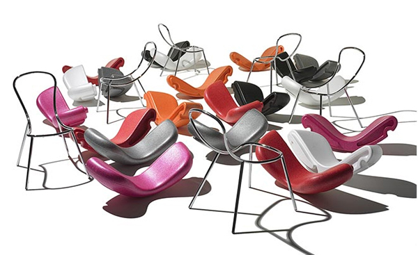 funky chair designs snap karim rashid feek 2 Funky Chair Designs with Removable Seats by Karim Rashid for Feek