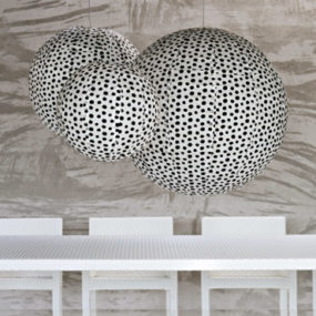Spherical Paper Lamp Shade by Gervasoni