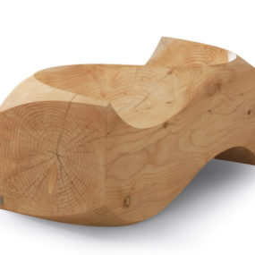 Wooden Loveseat by Jake Phipps