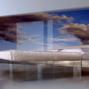 Bed that Floats in the Air by Daniele Lago