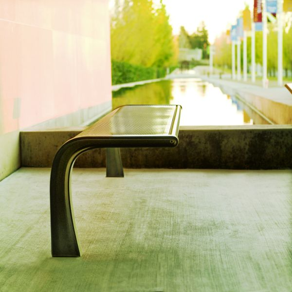 Ultra Modern Park Bench By
