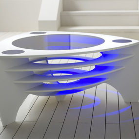 Modern Corian Coffee Tables by Stuart Melrose