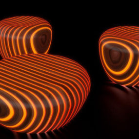 Lighted Outdoor Furniture by Avanzini – Bright Woods