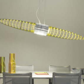 Modern Suspended Lamp from Luceplan – Queen Titania