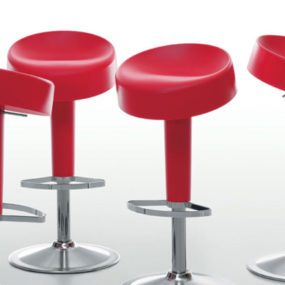 Color Molded Plastic Barstool from Maxdesign – Sugar Free