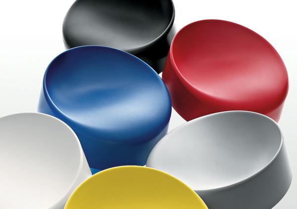 maxdesign barstools sugar free 3 Color Molded Plastic Barstool from Maxdesign   Sugar Free