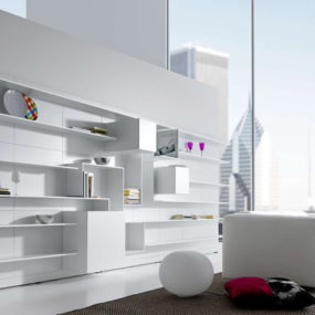 Modern Modular Wall System from MDF Italia – new Vita: generate your own on the Web