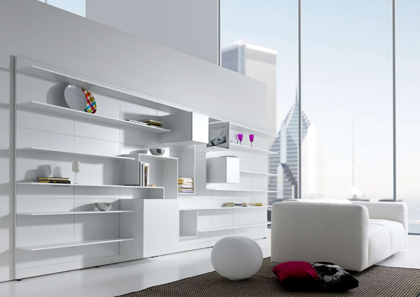 mdf italia vita 1 Modern Modular Wall System from MDF Italia   new Vita: generate your own on the Web