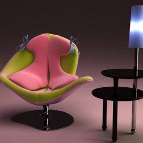Origine Du Monde Chair by Italo Rota for Meritalia