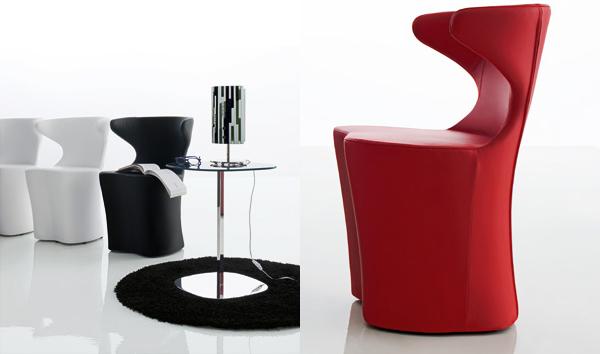 modern classic armchairs desy compar 2 Modern Classic Armchairs   Desy Armchair from Com.p.ar