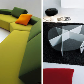 Modern Furniture Designs by Beside: Armchairs, Coffee Table and Sofas