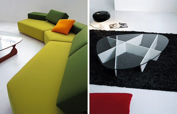 modern furniture designs beside sofas 4